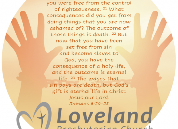 July 19, 2020 ~ A Message from Chip Hardwick, Interim Synod Executive, Synod of the Covenant